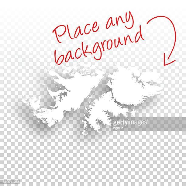 ilustraciones, imágenes clip art, dibujos animados e iconos de stock de islas malvinas mapa para el diseño de fondo blanco - islas malvinas