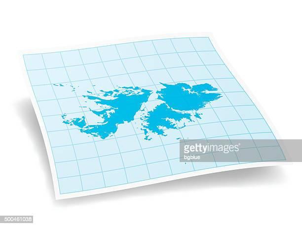 ilustraciones, imágenes clip art, dibujos animados e iconos de stock de islas malvinas mapa aislado sobre fondo blanco - islas malvinas