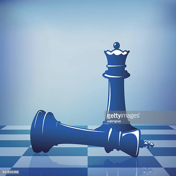 Fall of the chess king