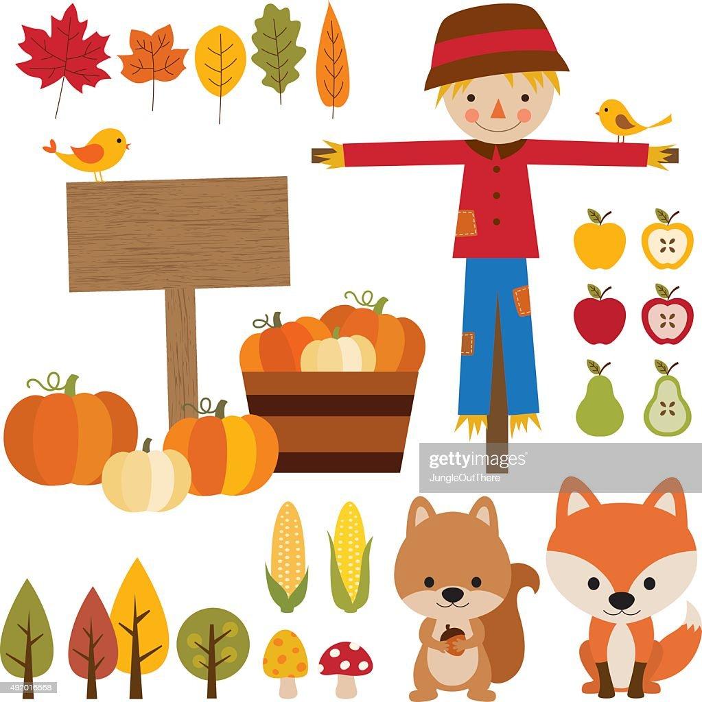 Fall Season Elements