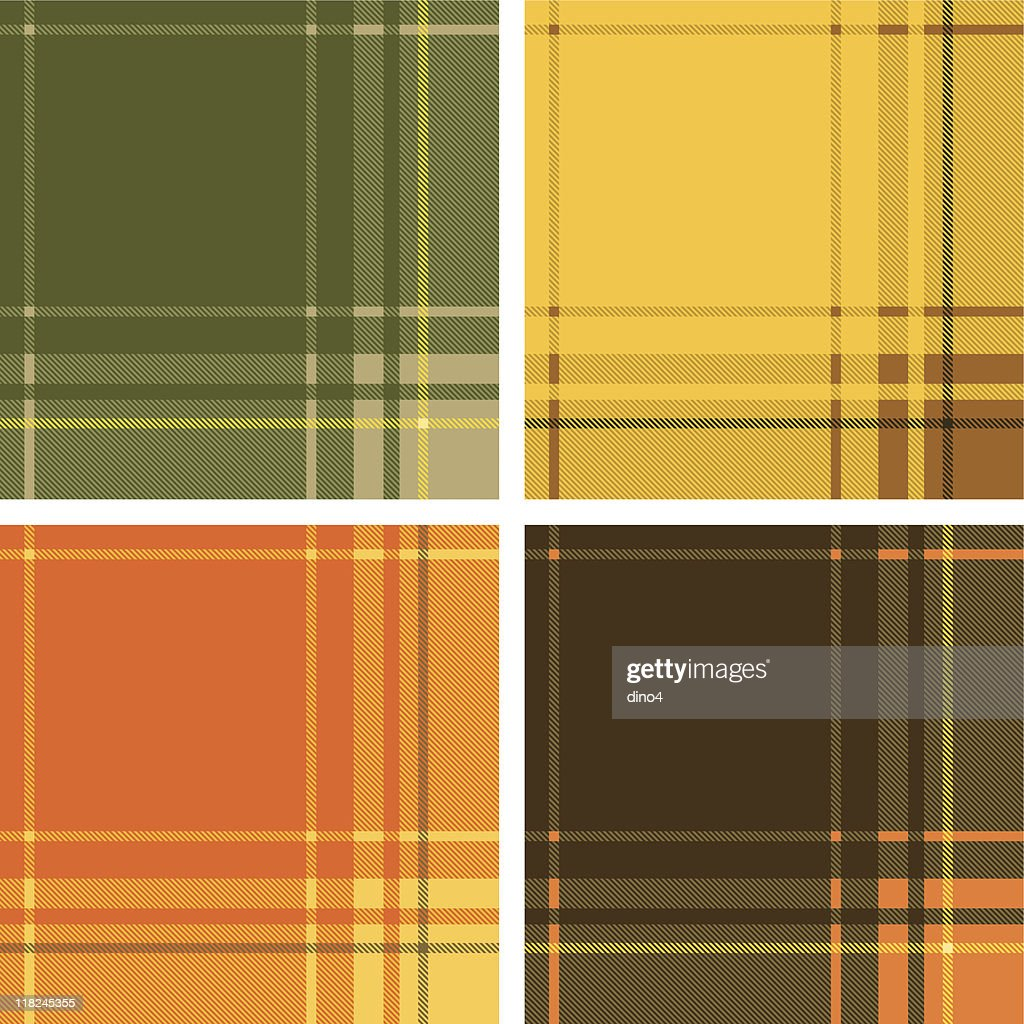 Fall Tartan (Seamless) : stock illustration