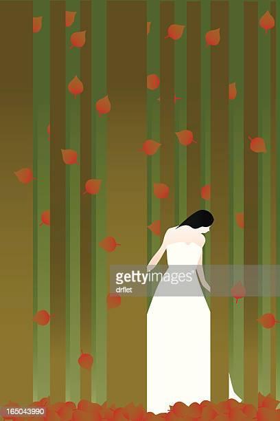 fall - aspen tree stock illustrations, clip art, cartoons, & icons