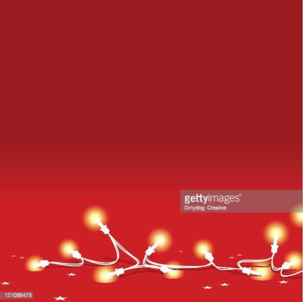 Fallen 妖精の光と星空の赤