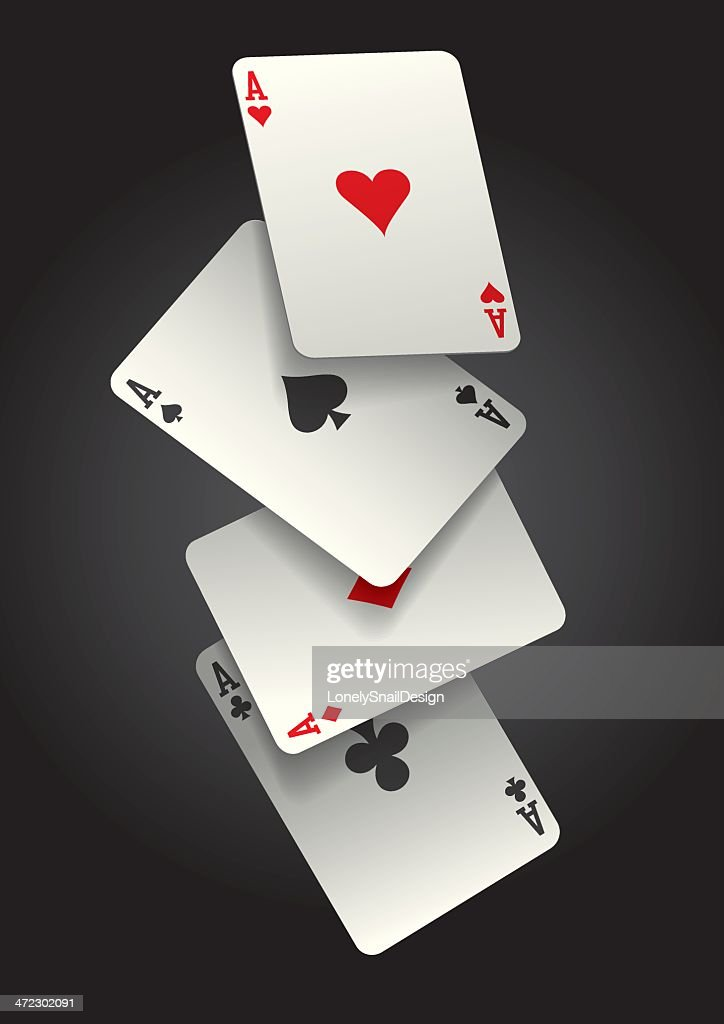 falling ace cards