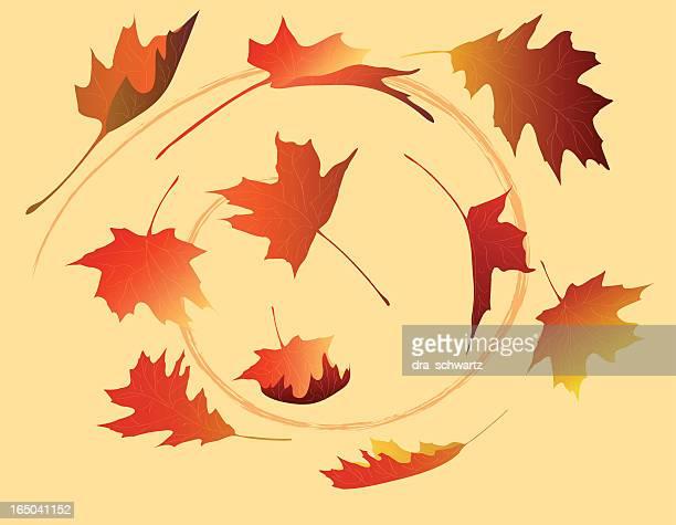 Fallen Blätter