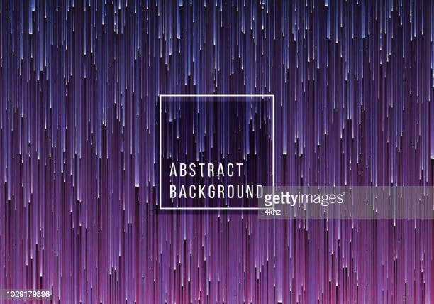 Falling Lines Abstract Texture Purple Background
