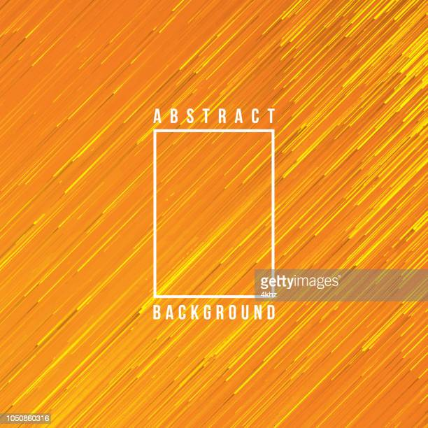 Falling Lines Abstract Texture Yellow Background