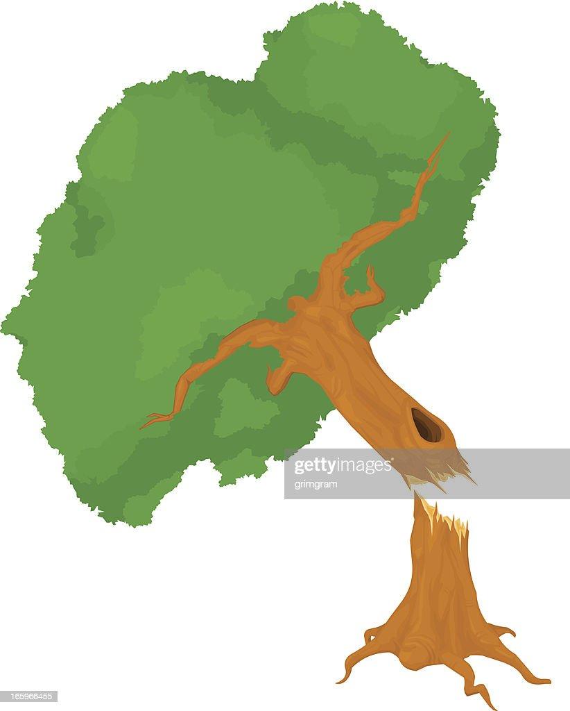 Falling Tree Icon