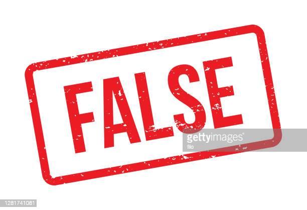 ilustraciones, imágenes clip art, dibujos animados e iconos de stock de sello rojo falso - falso