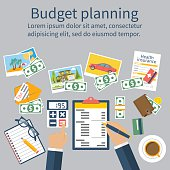 Family budget planning.