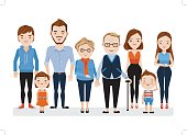 Family Caucasian