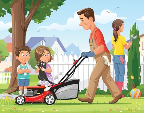 Family Gardening - gettyimageskorea