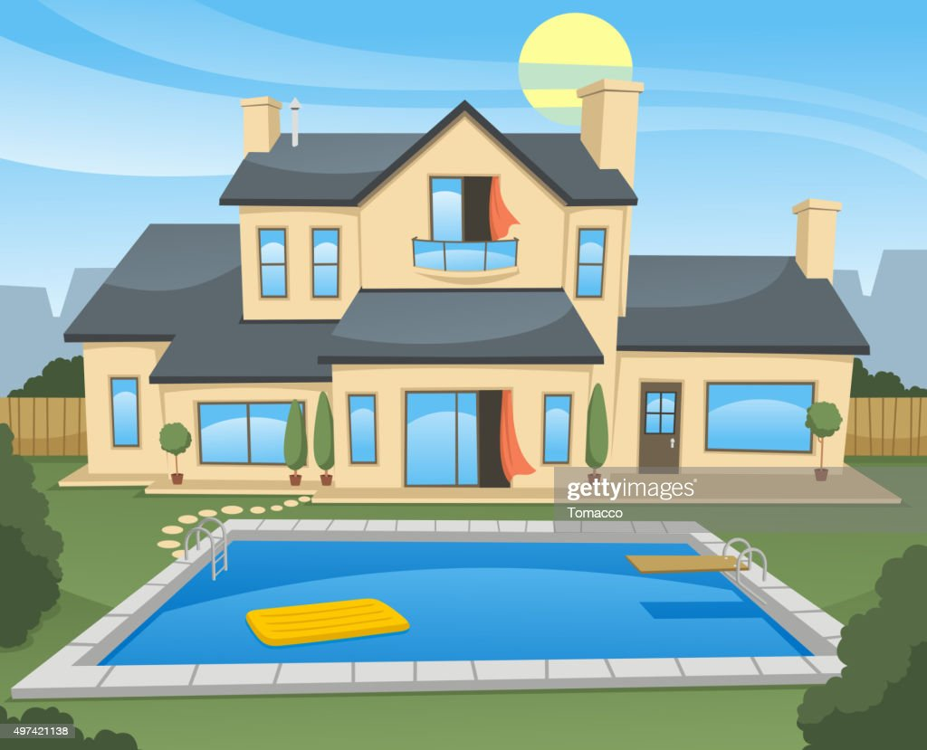 Family House with pool