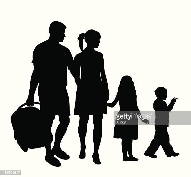 Family Icon Vector Silhouette