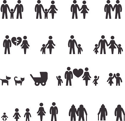 Family Icons - Acme Series - gettyimageskorea