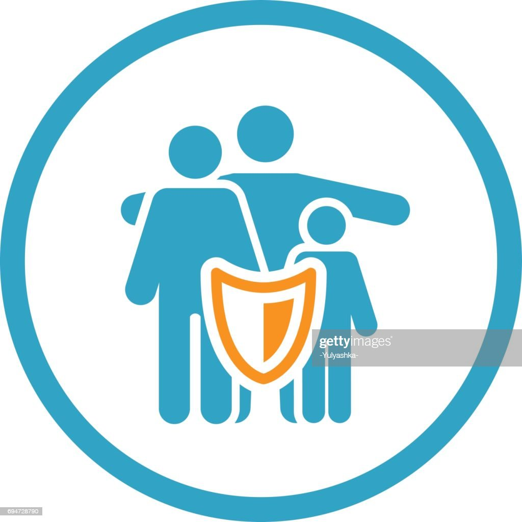 Family Insurance Solutions and Services Icon.
