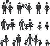 Family life Icons - Acme Series