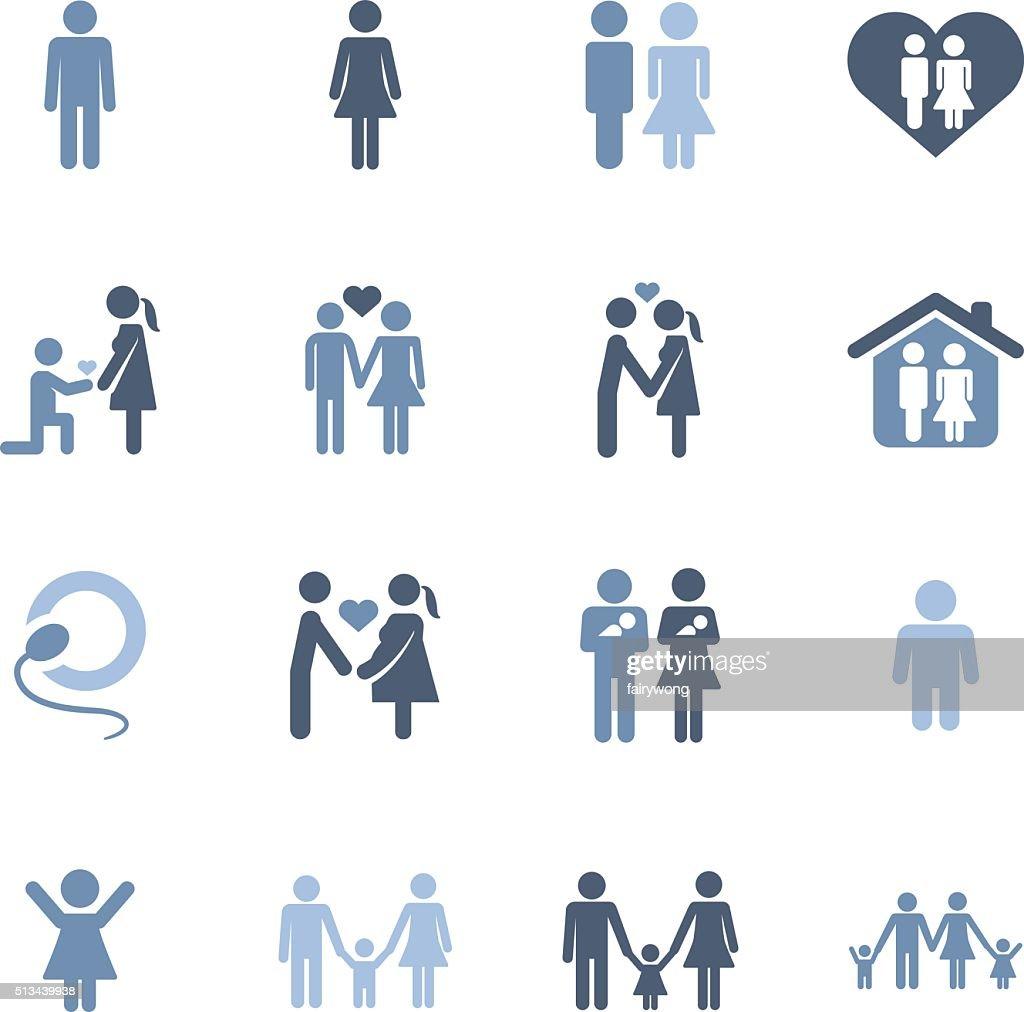 family life icons