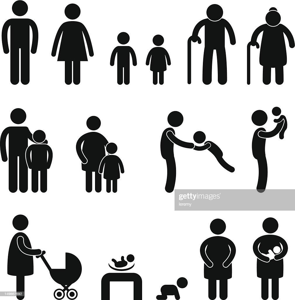 Family Member Pictogram