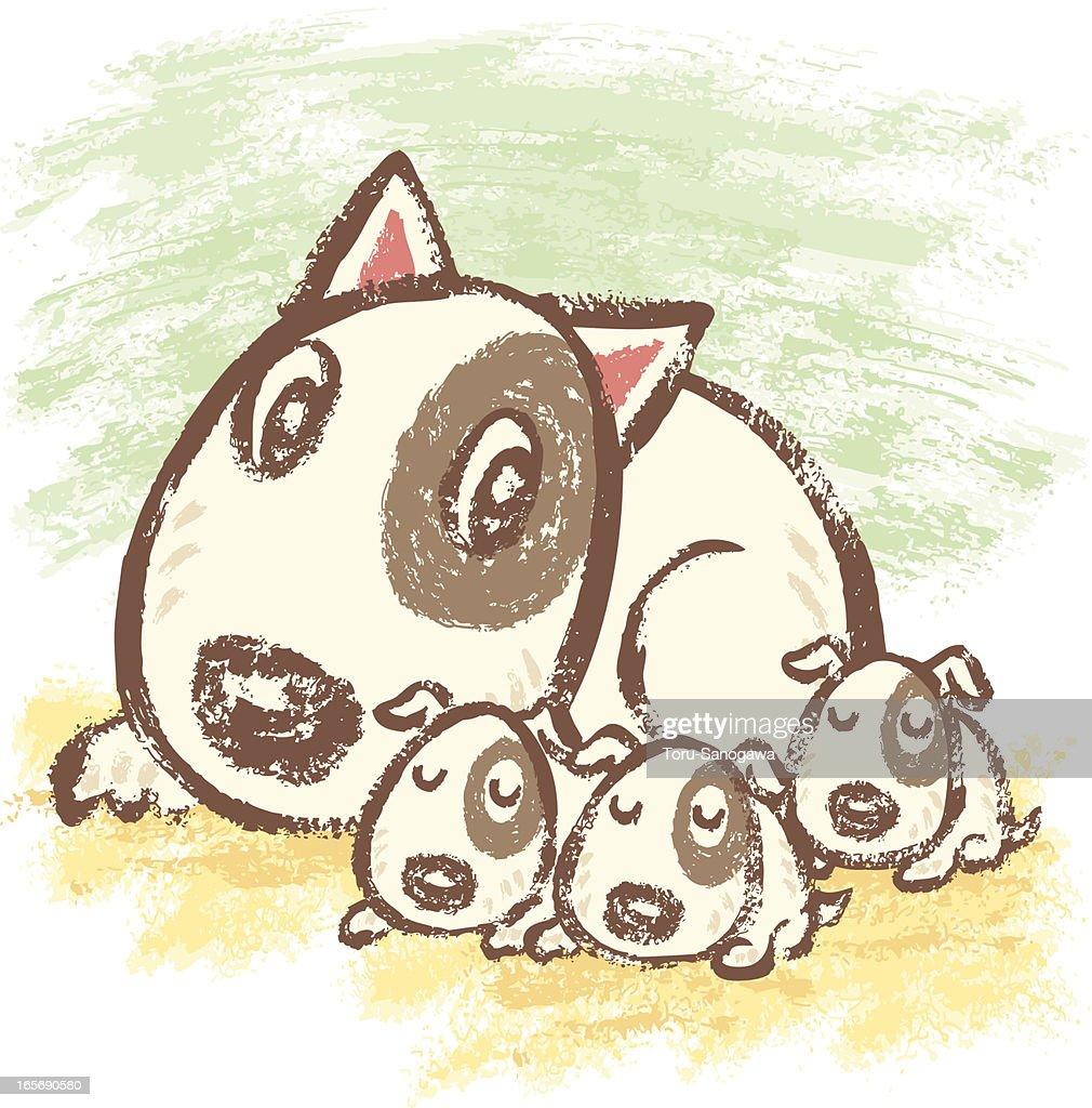 Family of Bullterrier