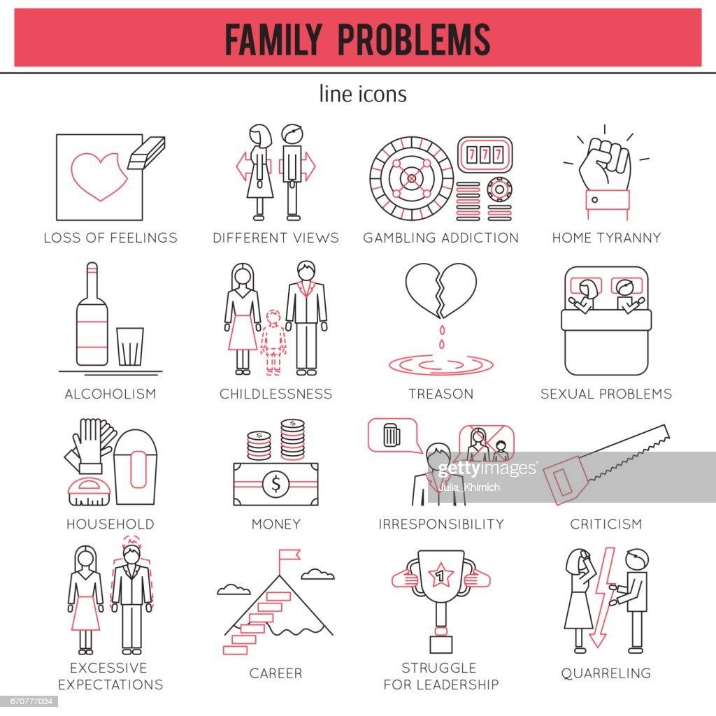 Family Problems set
