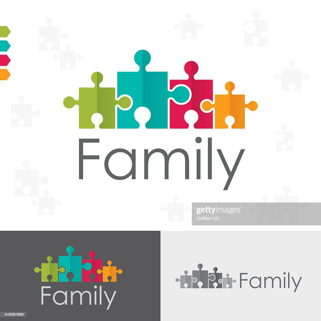 Family Puzzles Concept