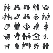 Family Relations Icons - Smart Series