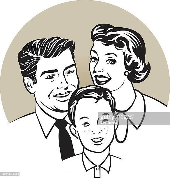 Família retro