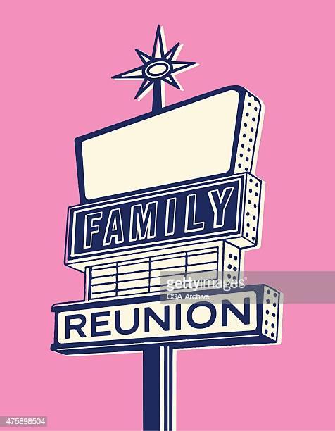 illustrations et dessins anim s de r union de famille getty images. Black Bedroom Furniture Sets. Home Design Ideas