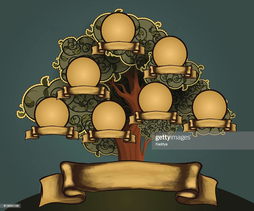 Family Tree Design Template Vector Art Getty Images