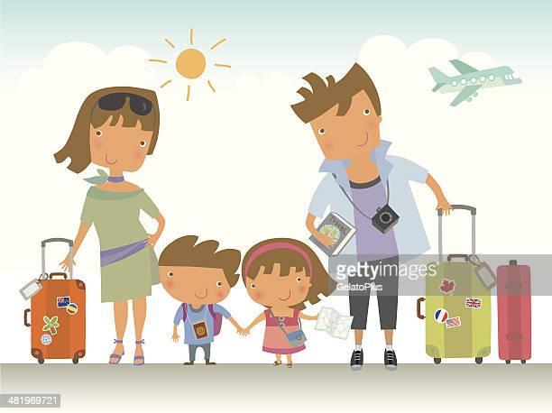 Aufenthalt mit der Familie