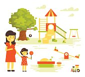 Family-Children-Playground