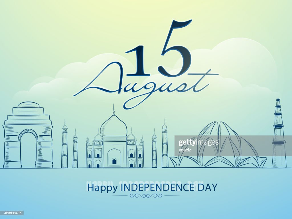 Famous monuments for Indian Independence Day.