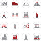 Famous Place Icons