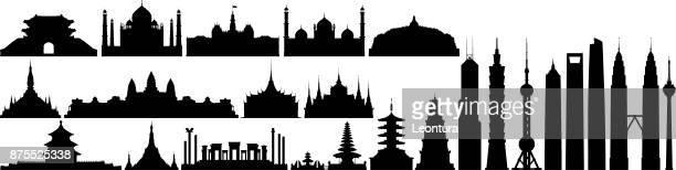 Lieux célèbres en Asie