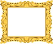 Fancy Gold Frame
