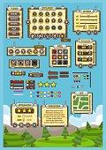 Fantasy Game UI Set