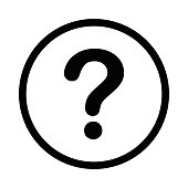 faq (frequently asked question) icon, isolated vector,transparent