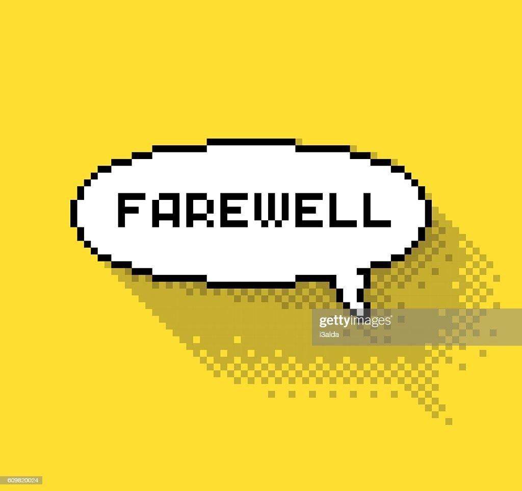 Farewell bubble