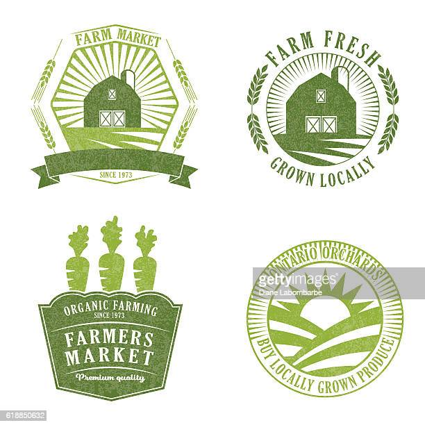 Farm And Agriculture Badge or Label