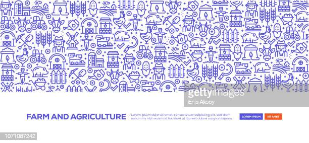 Farm and Agriculture Banner