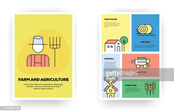 Farm and Agriculture Related Infographic