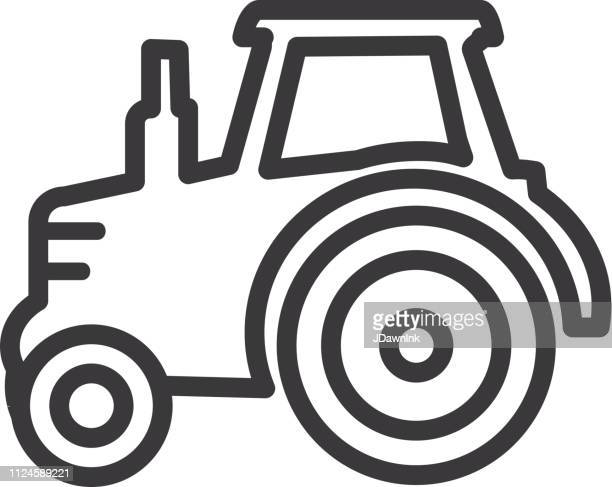 60 Meilleurs Tractor Silhouette Illustrations Cliparts