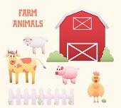 Farm Animals and Barnyard