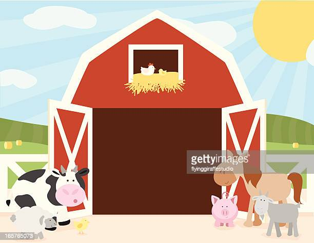 World's Best Barn Stock Illustrations - Getty Images