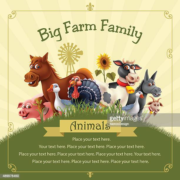 Farm Animals Family