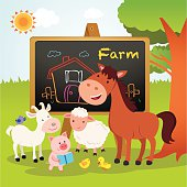 Farm animals lesson