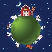 Farm Animals Vector Illustration Series
