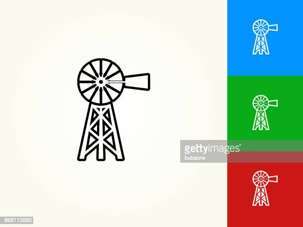 Farm Black Stroke Linear Icon