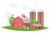 farm building - rural barn